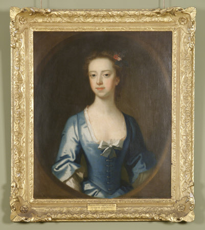 Possibly Anne Stucley, Mrs Francis Luttrell of Venn (1710 - 1731)