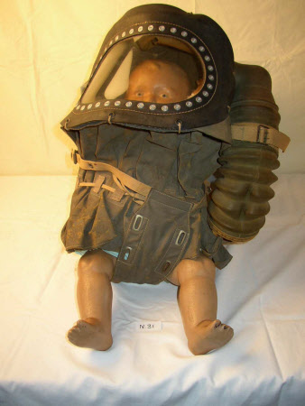 Baby's gas mask