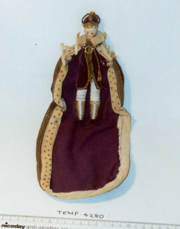 Costume doll of King George VI (1895-1952)