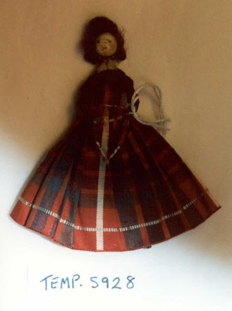 Bead and wire doll