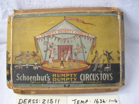 Original box for toy