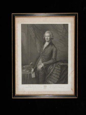 The Rt. Hon. William Pitt the younger MP (1759-1806) (after Thomas Gainsborough)