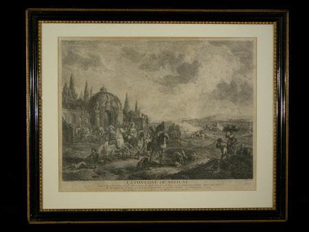 La Fontaine de Neptune (after Philips Wouverman)
