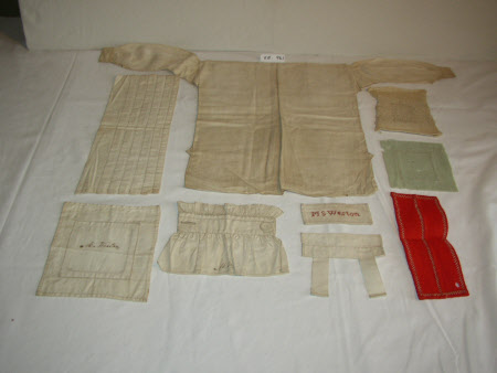 Examples of needlework