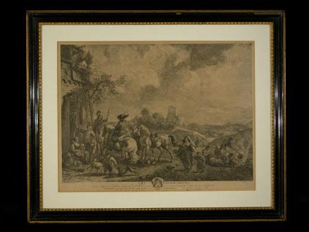 Les Bohemiens (after Philips Wouverman)