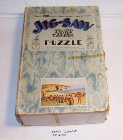 Original box for jigsaw puzzle