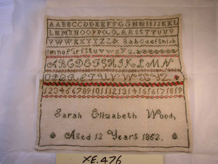Sampler, Alphabets and Numbers