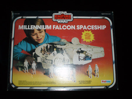 Original box for Star Wars toy