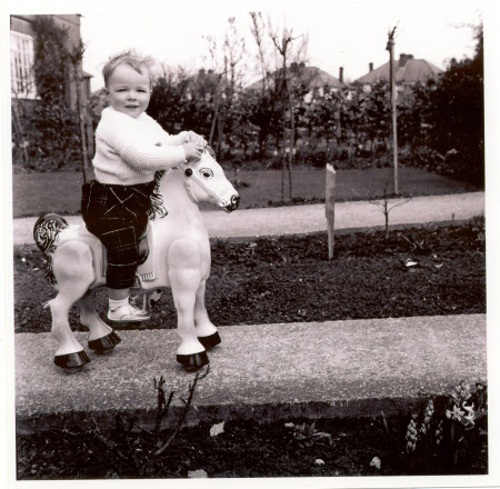 National Trust Museum of Childhood. Grandson David, then aged 17 months in 1963. © National Trust
