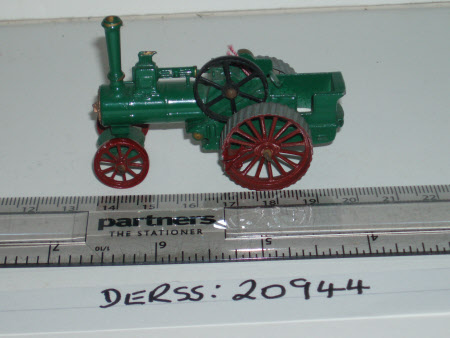 Toy traction engine