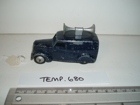 Model vehicle