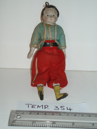 Composition-headed doll