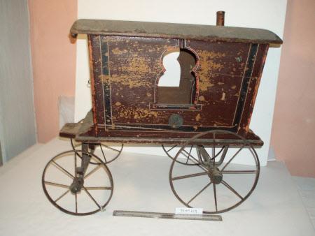 Toy gypsy caravan