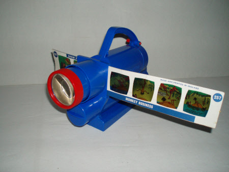 Toy cine projector