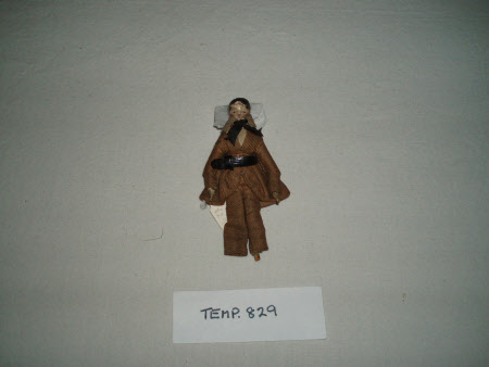 Peg wooden doll