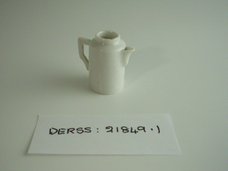 Doll's house coffee pot