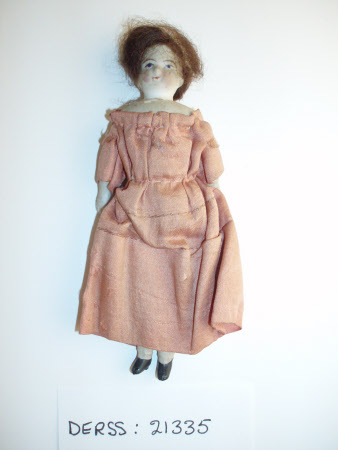 Untinted bisque doll
