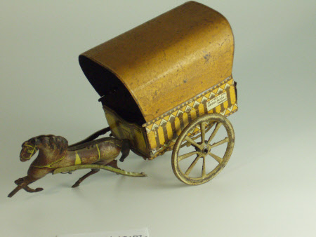 Toy horse and cart