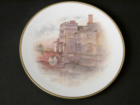 Royal Worcester hand painted plates