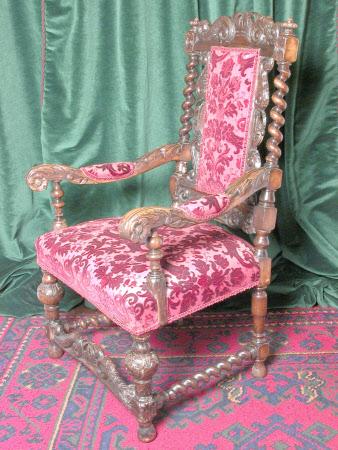 Open armchair