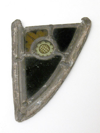 Stained glass fragment