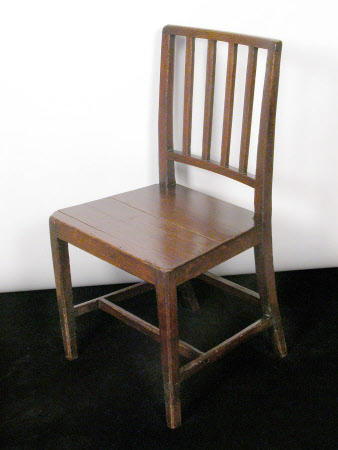 A pair of oak chairs, probably Welsh, circa 1790