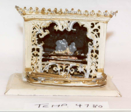 Doll's house fireplace
