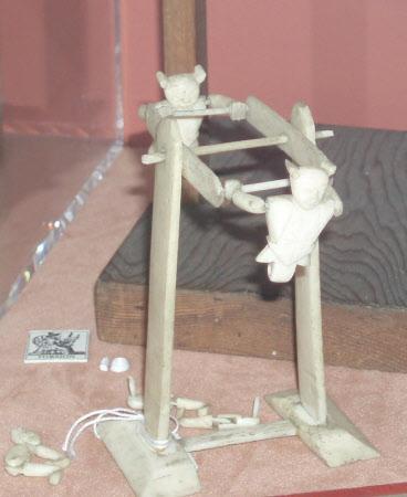 Acrobat, rotating