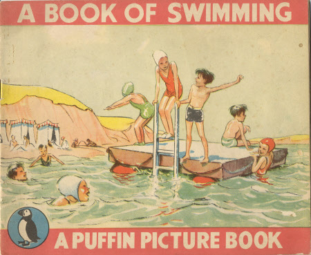 A book of swimming by Janet Bassett-Lowke and Lunt Roberts.