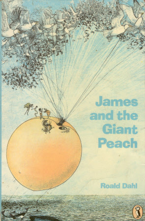 James and the giant peach. Roald Dahl; illustrated by Nancy Ekholm Burkert