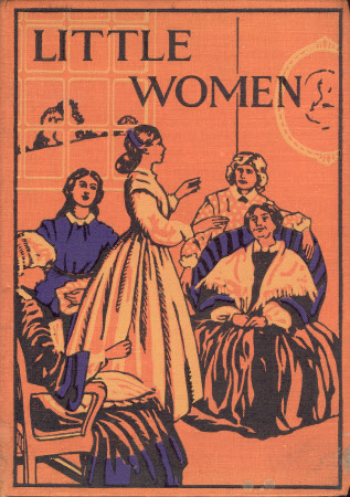 Little women, or, Meg, Jo, Beth, and Amy by Louisa M.Alcott ; with illustrations by Percy Tarrant.