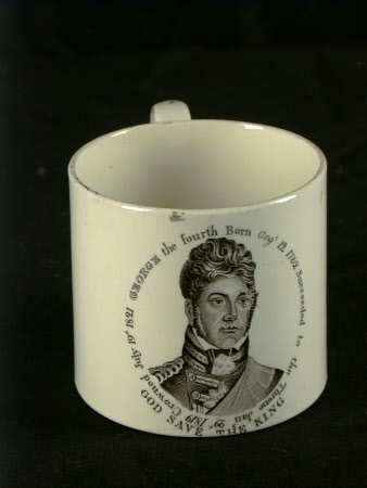 Commemorative Mug - King George IV (1762-1830)