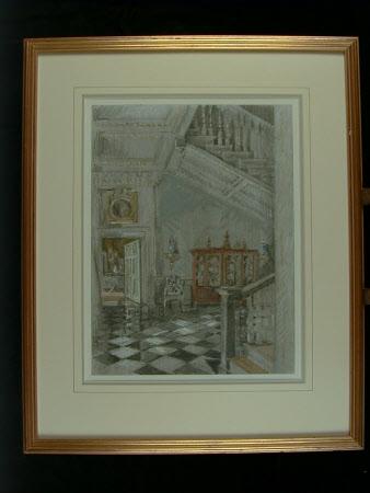 The Walnut Staircase, Dyrham Park