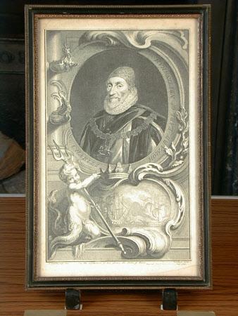 Charles Howard, 1st Earl of Nottingham KG (1536-1624) (after Daniel Mytens the elder)