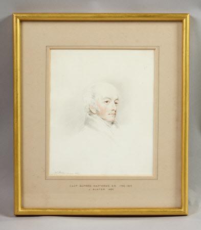 Captain Alfred Matthews, RN (1792-1873)