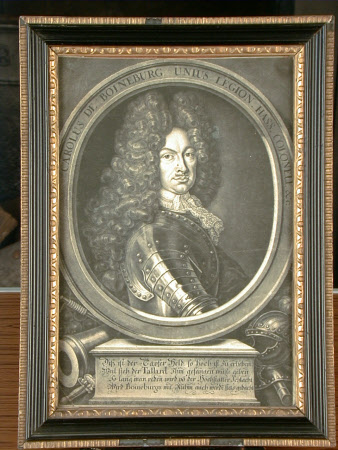 General Karl van Boineburg-Hohenstein (1668-1738) (after Schmidt)