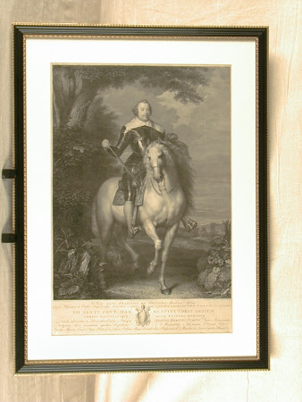 Francisco de Moncada, Marques de Aytona (1586-1635) on horseback (after Van Dyck)
