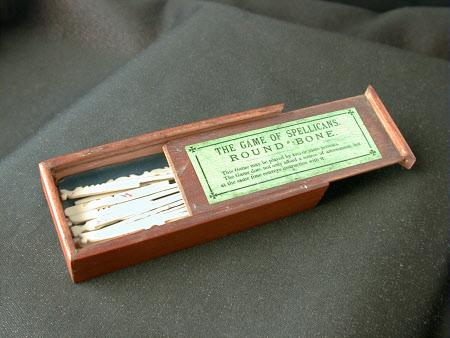 Spillikins box