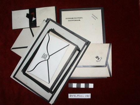 Mourning envelope