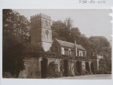 Exterior of Parish church of St Peter, Dyrham, Gloucestershire