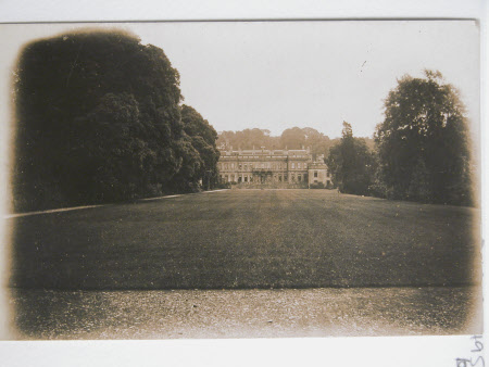 View of west front taken from the west gate, Dyrham Park, Gloucestershire