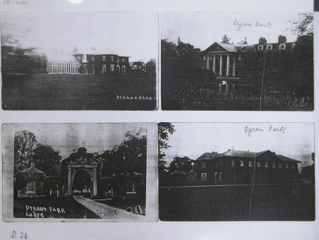 View of Dyrham parks, Hertfordshire and elsewhere, photocopy