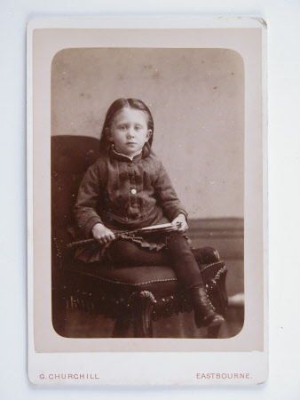Mary Blathwayt (1879-1961) as a child