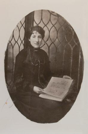 Miss Saunders, companion to Mrs Blathwayt