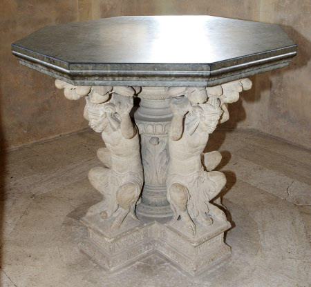'The Lacock Octagonal Satyr Table'