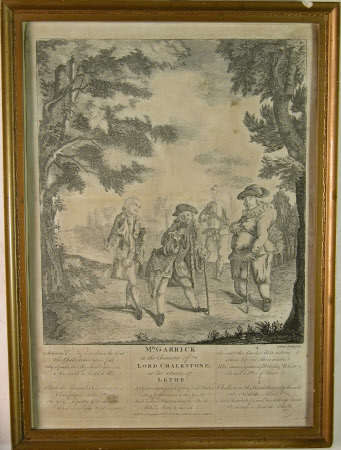David Garrick (1717-1779) as 'Lord Chalkstone', in the farce by David Garrick of 'Lethe; or Aesop ...