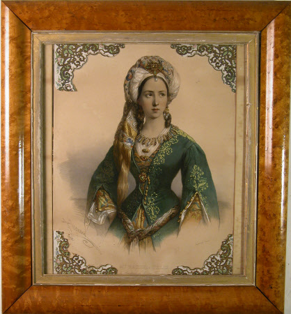 Mademoiselle Rachel (1821-1858) as 'Roxanne' in Racine's 'Bajazet'