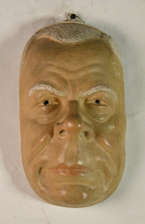 Life mask of Constant-Benoit Coquelin (1841 - 1909)