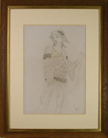 Dame Ellen Terry (1847-1928) as 'Guinevere' in J. Comyns Carr's 'King Arthur' (1895)