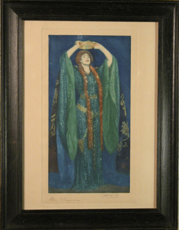 Dame Ellen Terry (1847-1928) as 'Lady Macbeth' in 'Macbeth' by William Shakespeare